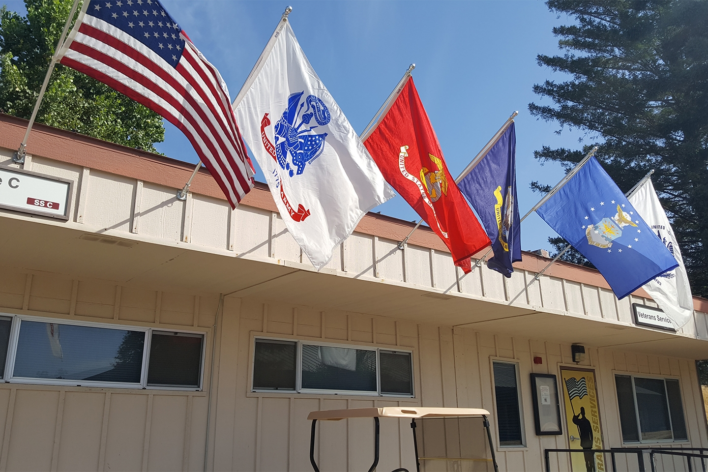 The Butte College Veterans Resource Center.