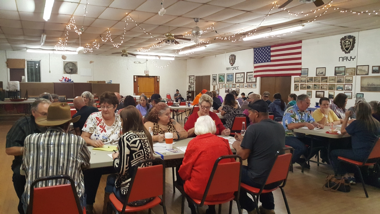 BUNCO Fundraiser for local youth Scholarships and Veteran assistance programs.